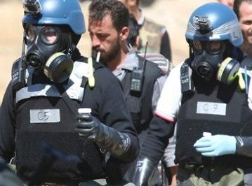 Membri della squadra investigativa Onu inviati nei sobborghi est di damasco lo scorso agosto