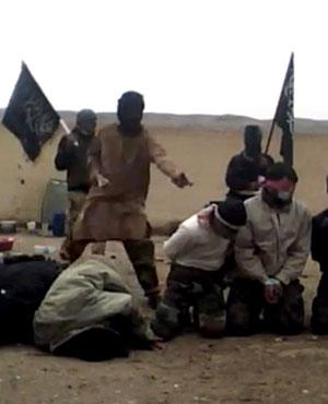 Esecuzione sommaria ad opera di terroristi del gruppo Al-Nusra nella Siria orientale