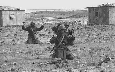 Soldati siriani negli ultimi giorni della guerra del Kippur