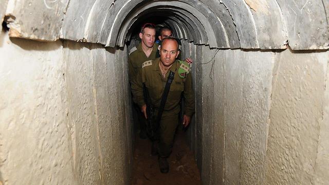 All'interno del tunnel dei terroristi