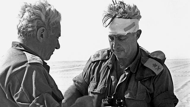 Nel Sinai, ottobre 1973
