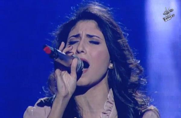 Lina Mahoul, 19 anni, araba cristiana di Acco (Israele), ha vinto nel 2013 la seconda edizione della popolare competizione canora The Voice