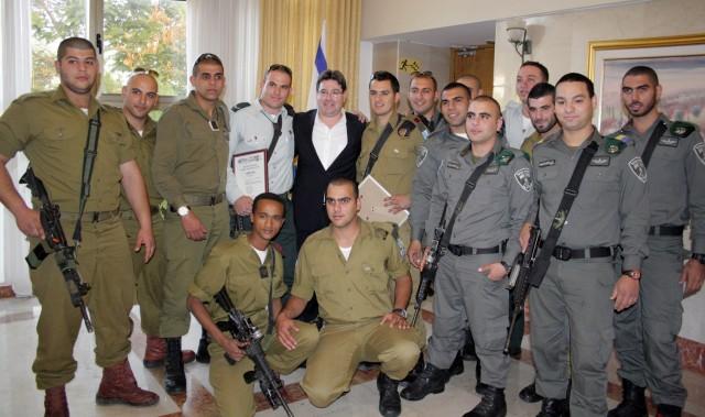 Soldati arabi cristiani volontari nelle Forze di Difesa israeliane