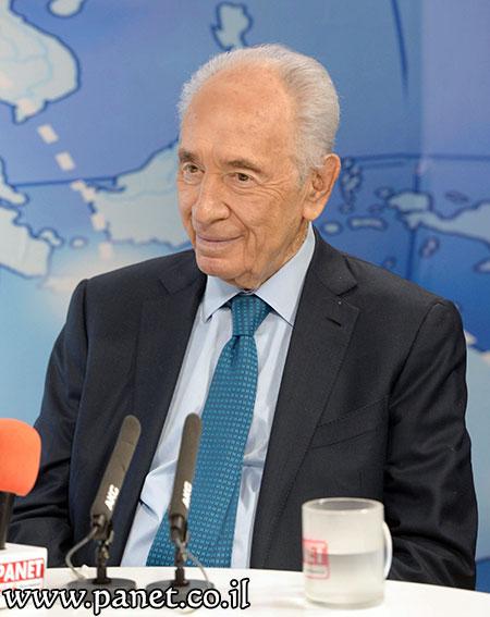 Il presidente d'Israele Shimon Peres