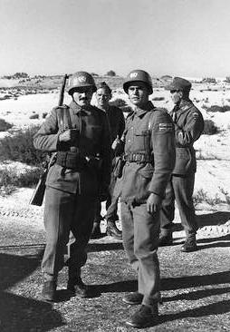 Soldati jugoslavi inquadrati nelle truppe Onu schierate nel Sinai nel 1957. Furono ritirati su ordine di Nasser nel maggio 1967