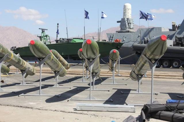 Missili iraniani nel porto di Eilat