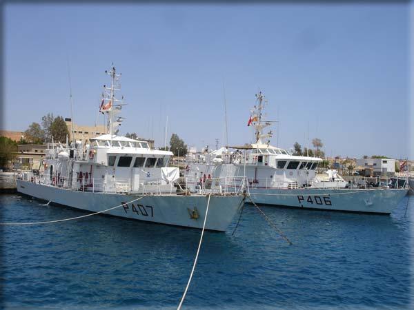 navi della Marina Militare italiana ormeggiate a Sharm El Sheikh nel quadro della Forza Multiunazionale