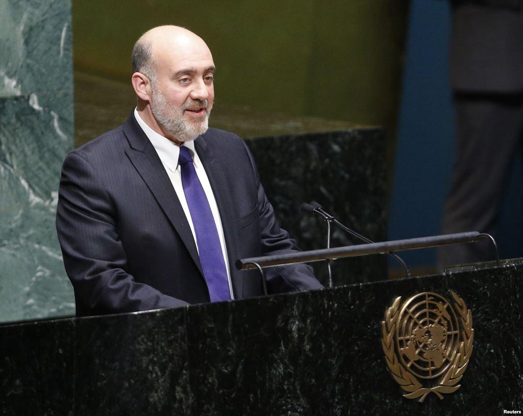 L'ambasciatore israeliano alle Nazioni Unite Ron Prosor