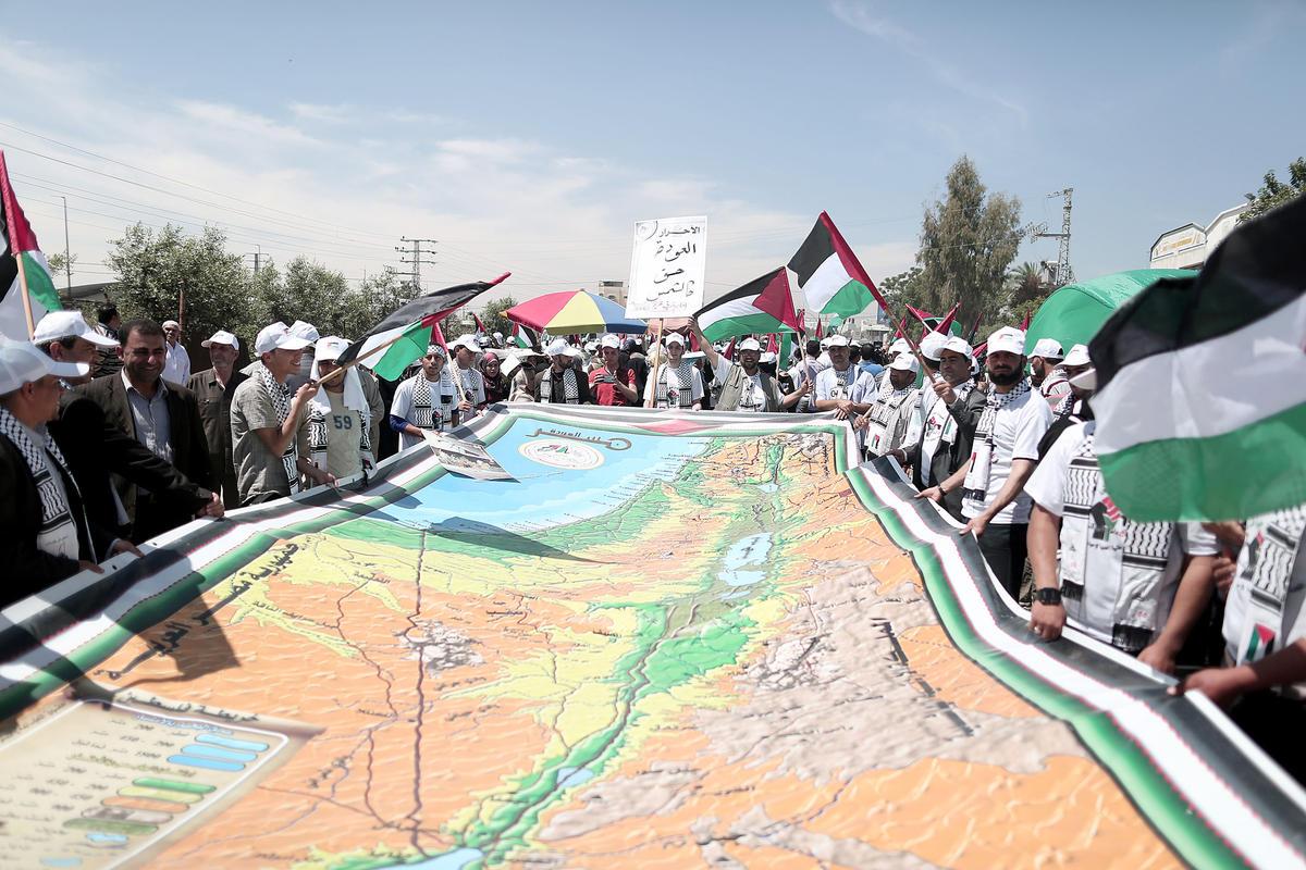 Tutte le mappe delle rivendicazioni palestinesi prevedono la cancellazione di Israele