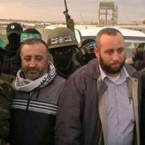 Abu Shmallah (a sinistra) e al-Attar