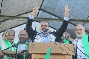 Il capo di Hamas a Gaza Ismail Haniyeh e lo stato maggiore di Hamas, usciti mercoledì dal loro bunker (sotto l'ospedale al-Shifa di Gaza, secondo concordi testiminanze) dove sono rimasti per tutti i 50 giorni di combattimenti