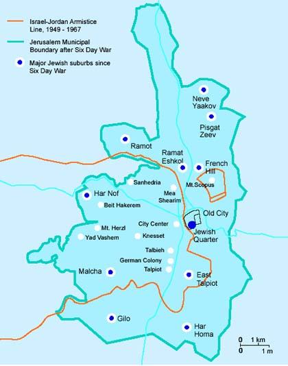 Gerusalemme dopo il '67
