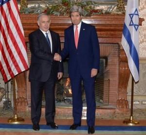 Nell'incontro di lunedì a Roma il primo ministro israeliano Benjamin Netanyahu e il segretario di stato usa John Kerry hanno discusso dei tentativi palestinesi di affossare la 242.