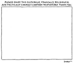 Gradite prego resposnabilmente questa vignetta politicamente corretta