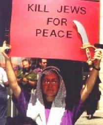 """""""Uccidere gli ebrei per la pace"""""""