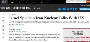 L'articolo del Wall Street Journal