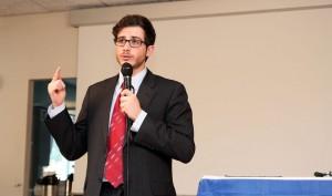 George Deek, arabo israeliano, diplomatico presso il Ministero degli esteri