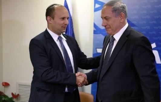 Neftali Bennett e Benjamni Netanyahu, mercoledì sera