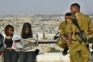 Ebrei etiopi a Gerusalemme