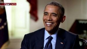 Il presidente Usa Barack Obama intervistato dall'emittente israeliana Channel 2 lo scorso 2 giugno