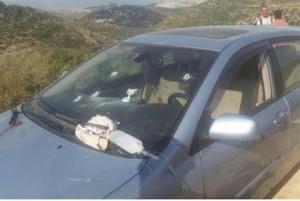L'auto su cui viaggiava Danny Gonen quando è stato ucciso, venerdì scorso