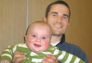 Asher Palmer e il figlio Yonatan, entrambi uccisi da lanciatori di pietre palestinesi