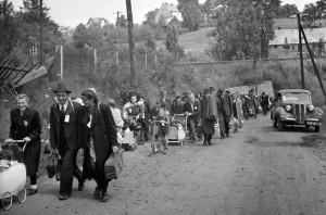 Luglio 1946: tedeschi dei Sudeti espulsi dalla Cecoslovacchia