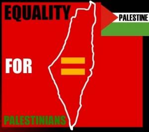 Le mappe invariabilmente utilizzate dalla propaganda palestinese illustrano esplicitamente l'obiettivo di cancellare Israele sostituendolo con un unico stato arabo