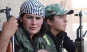 Combattenti curde anti-ISIS