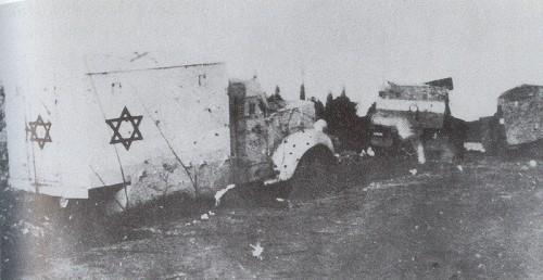 Terrorismo anni '40. Masscro del convoglio sanitario al Monte Scopus: 79 morti