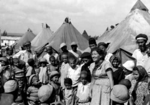 1949: profughi ebrei appena giunti in Israele dallo Yemen
