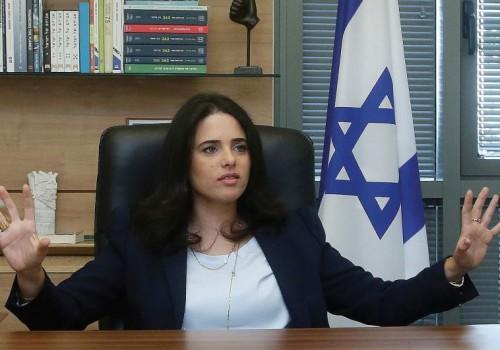 La ministra israeliana della giustizia Ayelet Shaked