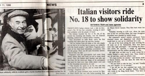 Jerusalem Post, 11 marzo 1996 (clicca per ingrandire)