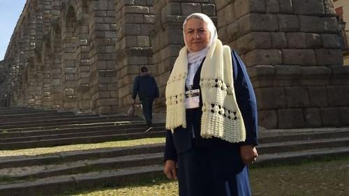 Jamila Hir questo mese a Segovia
