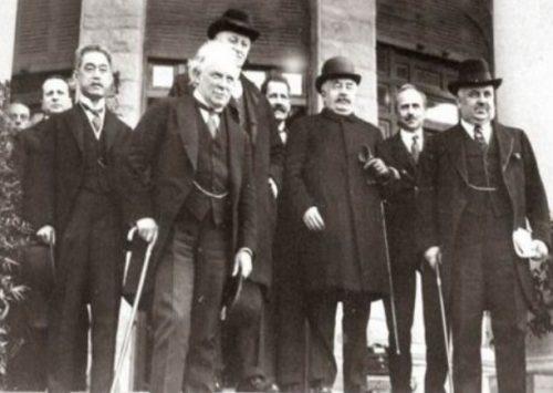 I delegati alla Conferenza di Sanremo, 1920