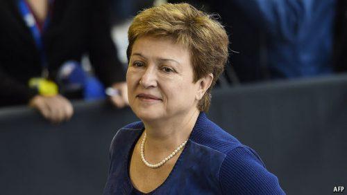 Kristalina Georgieva, attuale vicepresidente della Commissione europea responsabile del bilancio, un'altra possibile candidata bulgara a Segretario generale Onu