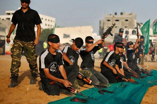 Un campo esitivo per ragazzi palestinesi organizzato nella striscia di Gaza
