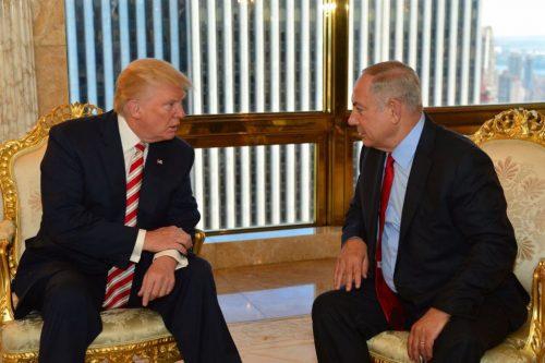 Donald Trump e Benjamin Netanyahu lo scorso settembre a New York