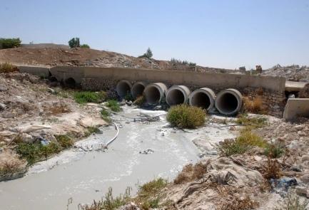 Mancata manutenzione di impianti di scarico in territorio palestinese