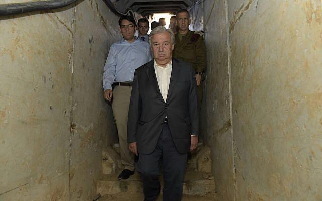 Gaza, Guterres: