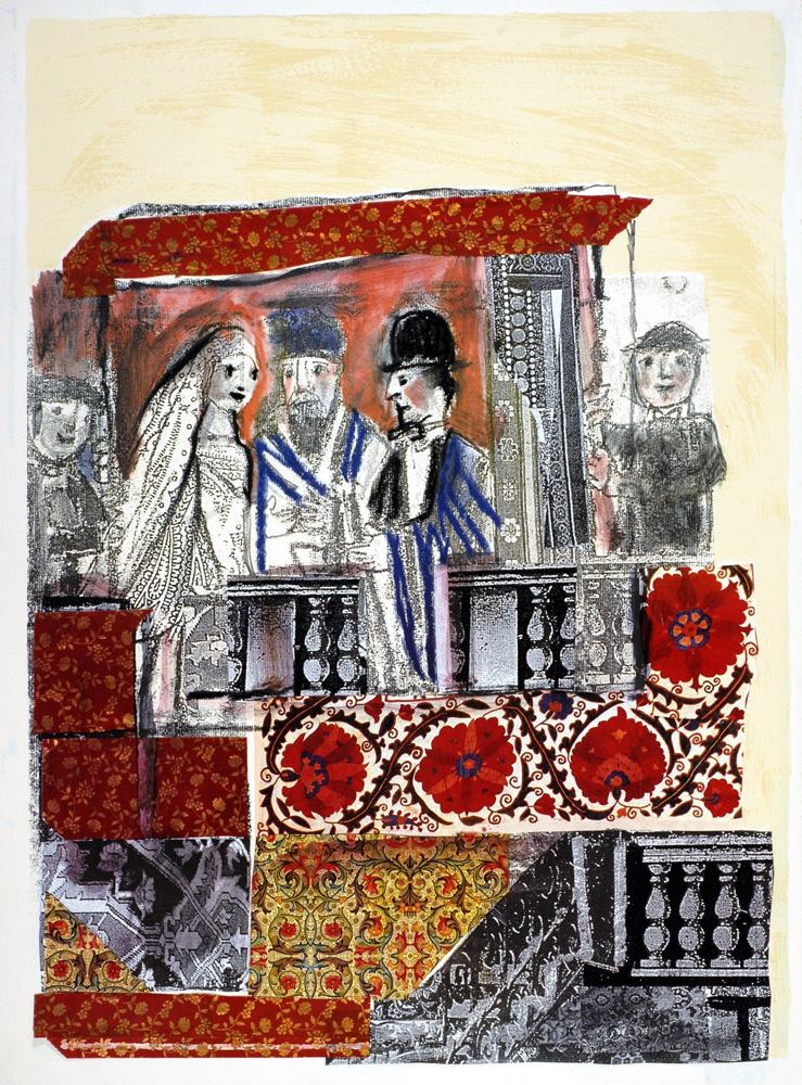 Matrimonio In Ebraico : L ebraismo nell arte di emanuele luzzati israele