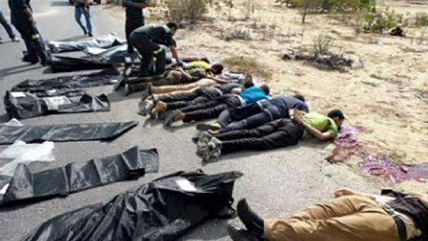 Poliziotti egiziani trucidati lunedì nel Sinai settentrionale