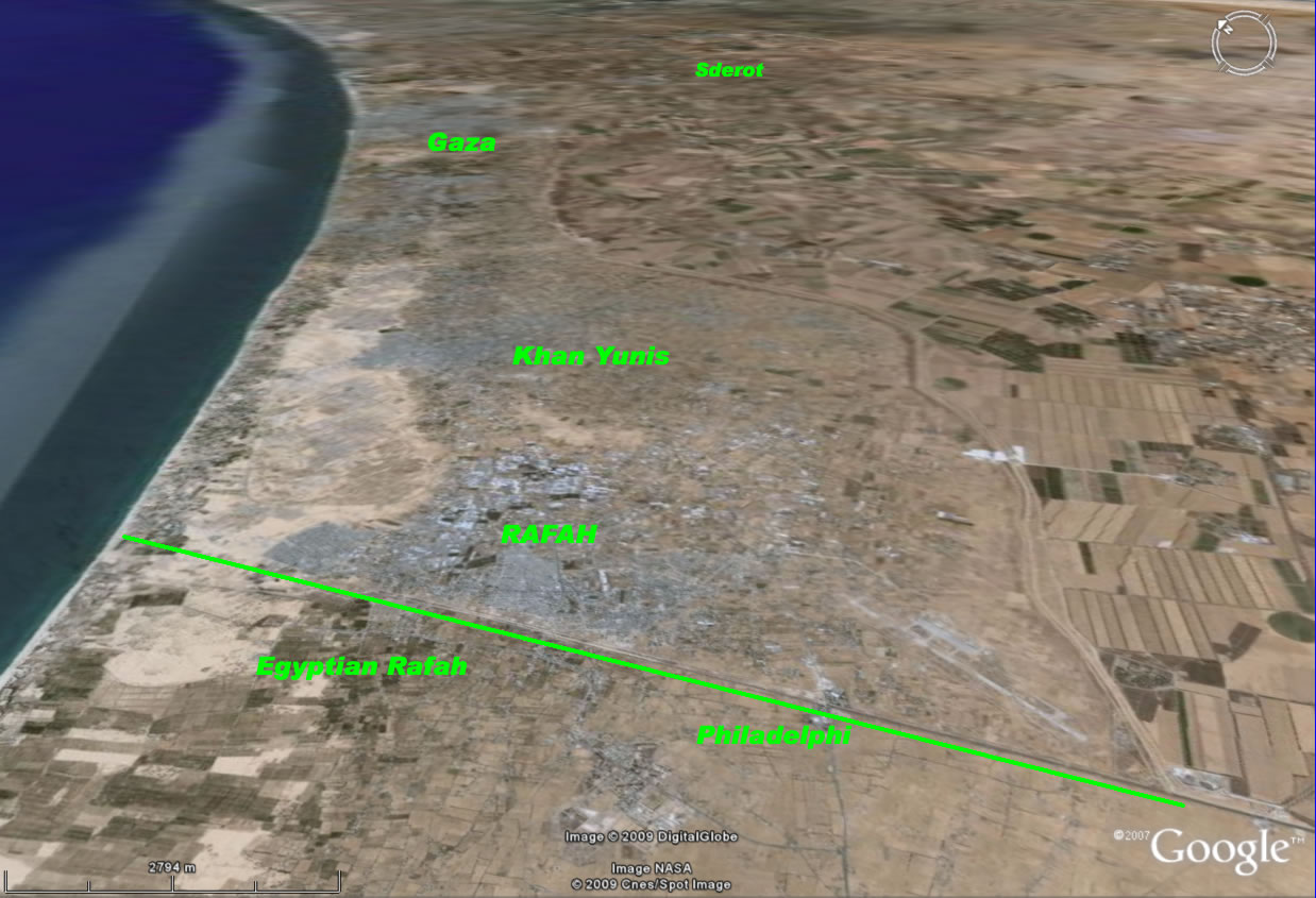 rafah_corridor