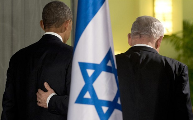 Il presidente degli Stati Uniti Barack Obama e il primo ministro israeliano Benjamin Netanyahu lo scorso marzo a Gerusalemme