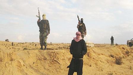 Qaedisti tribali nel Sinai egiziano