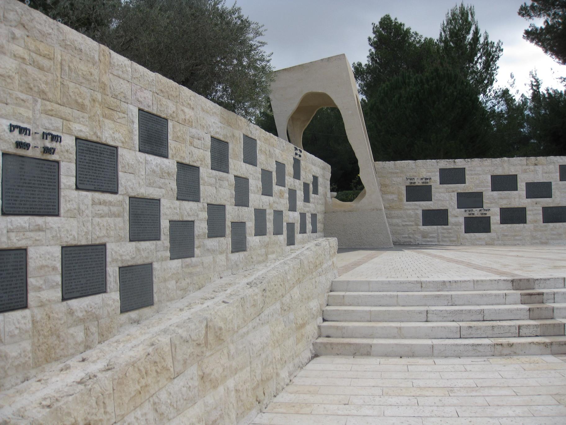 Il Memoriale delle vittime del terrorismo (Gerusalemme)
