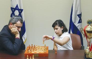 Anastasia Vuller ha battuto il vice ministro degli esteri Ze'ev Elkin