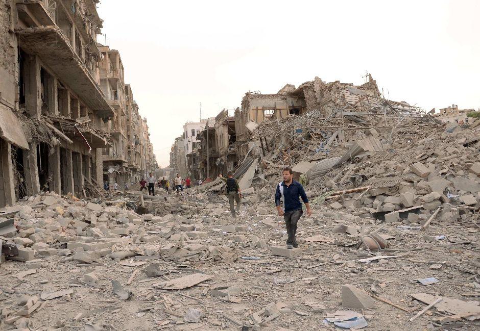«Decine di chilometri di case distrutte. Impossibile esprimerlo a parole»