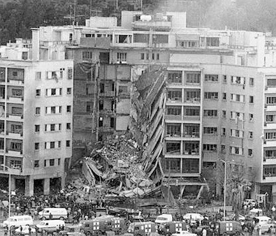18 Aprile 1983: attentato suicida all'ambasciata degli Stati Uniti a Beirut (Libano): 63 morti