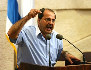 Il parlamentare arabo israeliano Ahmed Tibi